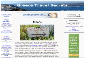 Greece Travel Secrets screen grab