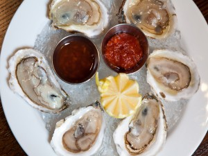 Oysters at the Bailey New York Pub and Brasserie off Wall Street