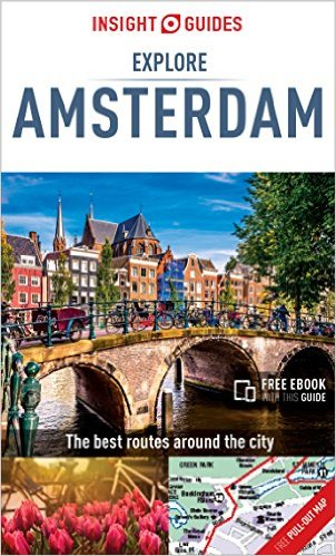 The Explore Amsterdam guidebook by Mike Gerrard for Insight Guides